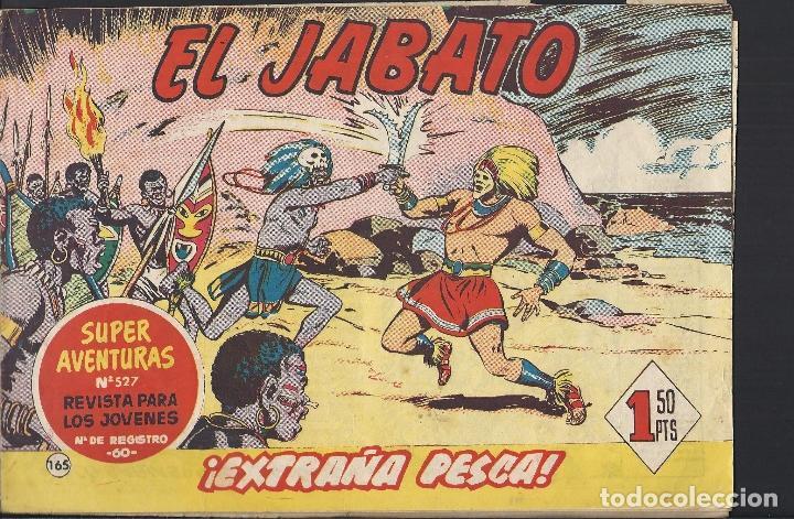 EL JABATO - EDITORIAL BRUGUERA - N°165 (Tebeos y Comics - Bruguera - Jabato)