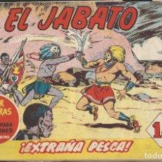 Tebeos: EL JABATO - EDITORIAL BRUGUERA - N°165. Lote 156548850