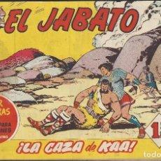 Tebeos: EL JABATO - EDITORIAL BRUGUERA - N°170. Lote 156548886