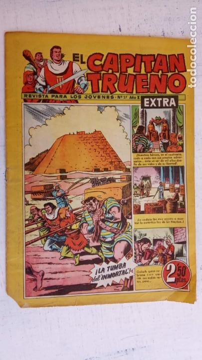 EL CAPITAN TRUENO EXTRA Nº 27 (Tebeos y Comics - Bruguera - Capitán Trueno)