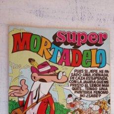 Tebeos: SUPER MORTADELO Nº 8 - 68 PGS. CON LOS MORTADELOS. Lote 156561966