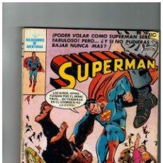 Tebeos: SUPERMAN -SELECCIONES DE SUPERMAN IV- CÓMICS BRUGUERA.RETAPADO CON NºS.41 A 45.. Lote 156662782