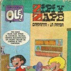Tebeos: ZIPI Y ZAPE, CARPANTA Y LA PANDA. Lote 156669234