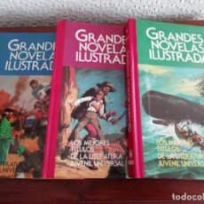 Tebeos: GRANDES NOVELAS LITERARIAS 1 9 10 LOTE DE TRES. . Lote 156724778