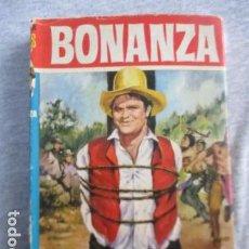 Tebeos: BONANZA -EL TEMPLO SUBTERRANEO -1963 -1 EDICION- COLECCION HEROES CON SOBRECUBIERTA. Lote 156765302