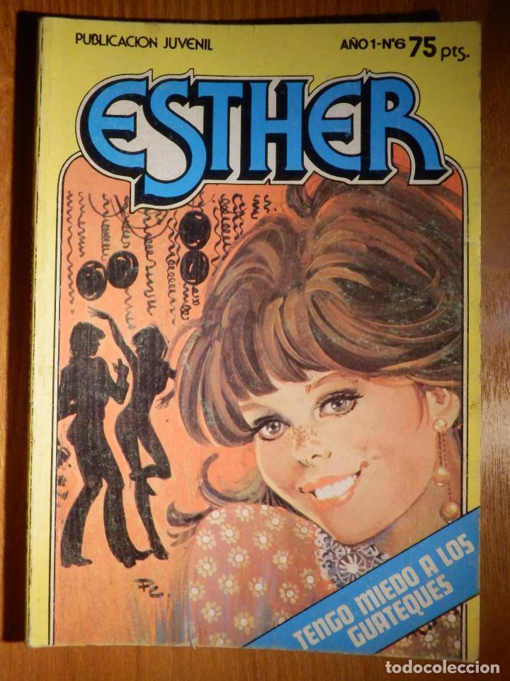 COMIC - ESTHER - AÑO I Nº 6 - TENGO MIEDO A LOS GUATEQUES - BRUGUERA 1982 - (Tebeos y Comics - Bruguera - Esther)