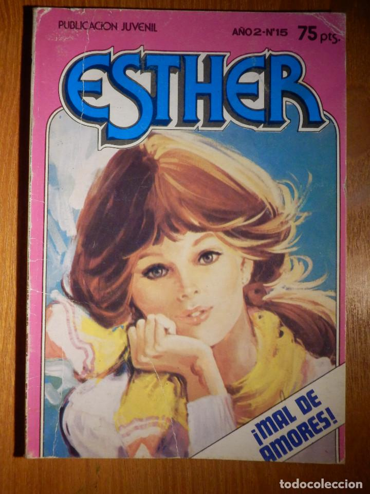 COMIC - ESTHER - AÑO 2 Nº 15 - MAL DE AMORES - BRUGUERA 1982 - (Tebeos y Comics - Bruguera - Esther)