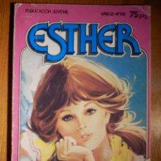 Tebeos: COMIC - ESTHER - AÑO 2 Nº 15 - MAL DE AMORES - BRUGUERA 1982 -. Lote 156945398