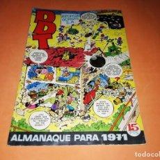 Tebeos: DDT. ALMANAQUE PARA 1971. BUEN ESTADO. Lote 157096774