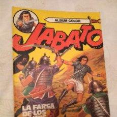 Tebeos: JABATO ÁLBUM COLOR Nº 11 - LA FARSA DE LOS HAINIS. Lote 157764130