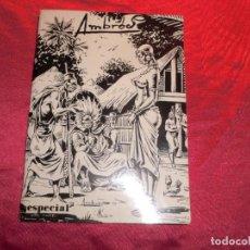 Tebeos: LIBRO DE AMBROS ESPECIAL,DIBUJANTE C TRUENO. Lote 157872446