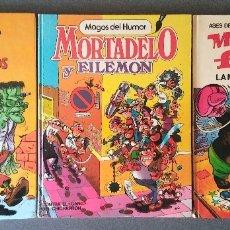 Tebeos: LOTE MORTADELO Y FILEMÓN MAGOS DEL HUMOR ASES DEL HUMOR. Lote 146236802