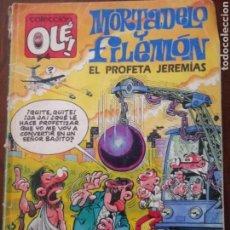 Livros de Banda Desenhada: MORTADELO Y FILEMON EL PROFETA JEREMIAS COLECCION OLE 374-M 166. Lote 157924418