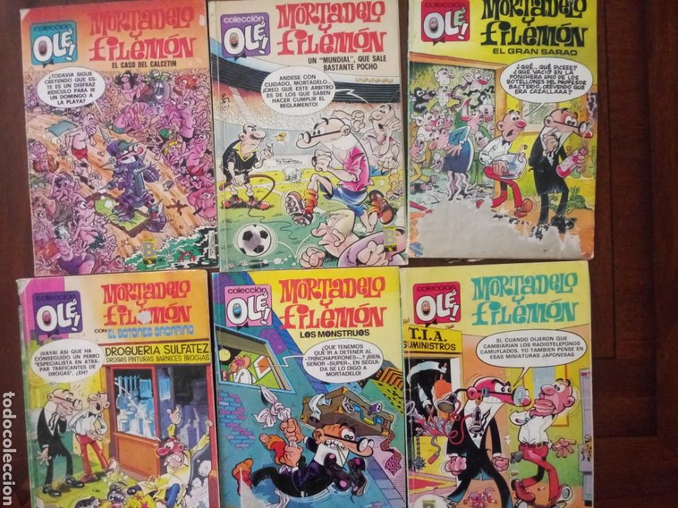 MORTADELO Y FILEMON 6 TEBEOS (Tebeos y Comics - Bruguera - Mortadelo)