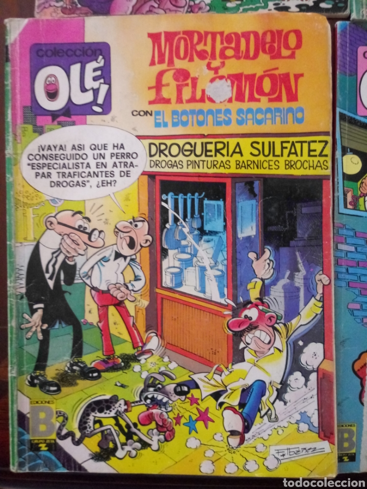 Tebeos: MORTADELO Y FILEMON 6 TEBEOS - Foto 6 - 157926294