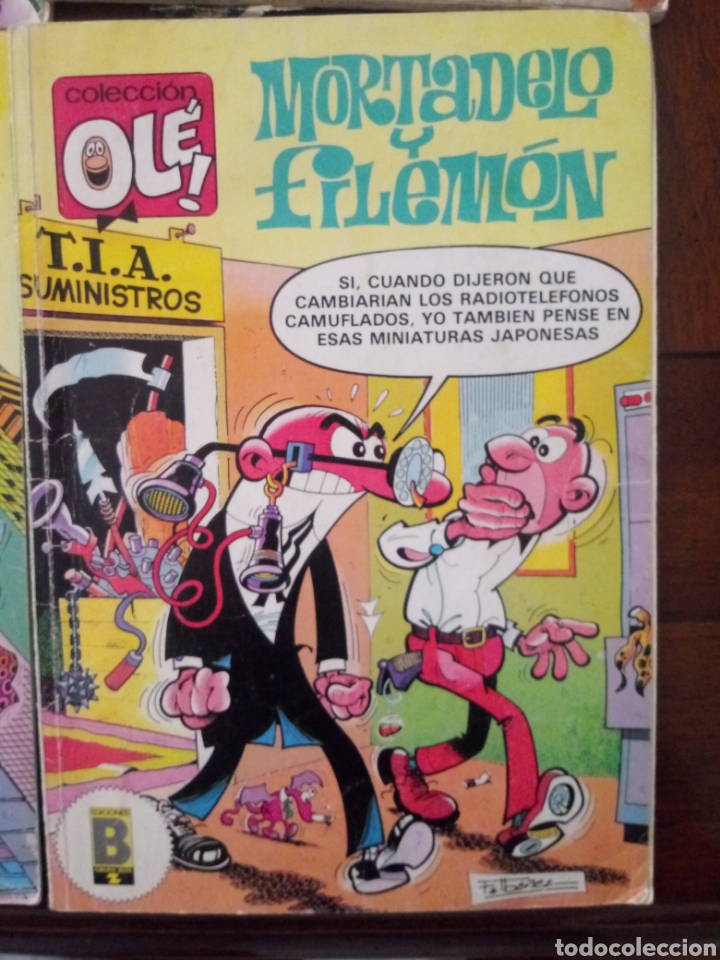 Tebeos: MORTADELO Y FILEMON 6 TEBEOS - Foto 8 - 157926294