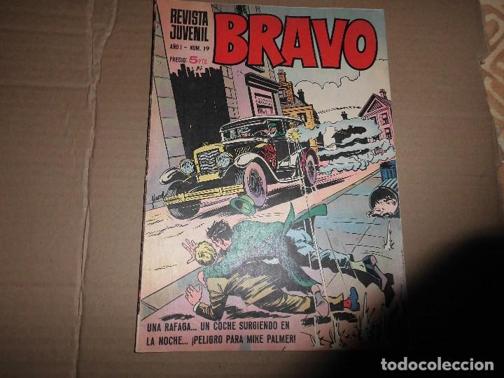 REVISTA BRAVO Nº 19 GALAX (Tebeos y Comics - Bruguera - Bravo)