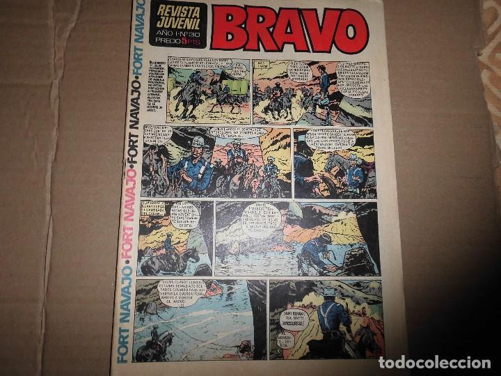REVISTA BRAVO Nº 30 BRUGUERA (Tebeos y Comics - Bruguera - Bravo)
