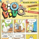 Tebeos: TIO VIVO Nº 13 HISTORIETAS RECORTABLES JUEGOS NUEVO 1986 BRUGUERA. Lote 158046382