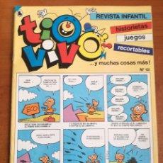 Tebeos: TIO VIVO 12 HISTORIETAS RECORTABLES JUEGOS NUEVO 1986 BRUGUERA. Lote 158047426