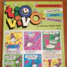 Tebeos: TIO VIVO Nº 11 HISTORIETAS RECORTABLES JUEGOS NUEVO 1986 BRUGUERA. Lote 158048590