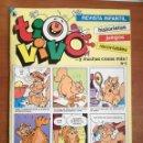Tebeos: TIO VIVO Nº 6 HISTORIETAS RECORTABLES JUEGOS NUEVO 1986 BRUGUERA. Lote 158049562