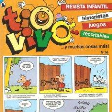 Tebeos: TIO VIVO Nº 16 HISTORIETAS RECORTABLES JUEGOS NUEVO 1986 BRUGUERA. Lote 158083426