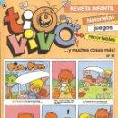 Tebeos: TIO VIVO Nº 19 HISTORIETAS RECORTABLES JUEGOS NUEVO 1986 BRUGUERA. Lote 158084362
