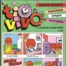 Tebeos: TIO VIVO Nº 23 HISTORIETAS RECORTABLES JUEGOS NUEVO 1986 BRUGUERA. Lote 158085402