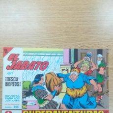 Tebeos: EL JABATO (FACSIMIL) #346. Lote 158104388