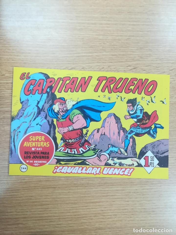 CAPITAN TRUENO (FACSIMIL) #244 (Tebeos y Comics - Bruguera - Capitán Trueno)