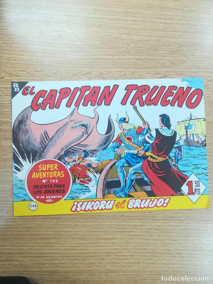 CAPITAN TRUENO (FACSIMIL) #348 (Tebeos y Comics - Bruguera - Capitán Trueno)