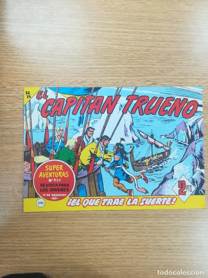 CAPITAN TRUENO (FACSIMIL) #391 (Tebeos y Comics - Bruguera - Capitán Trueno)
