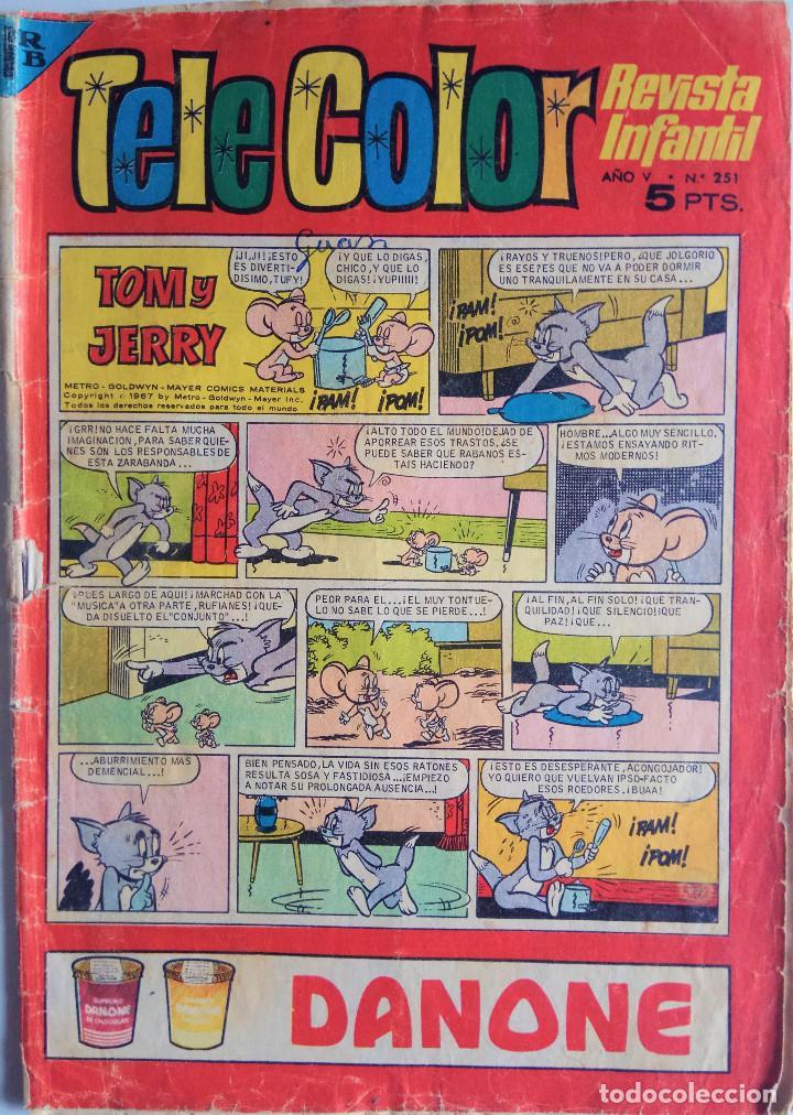 TELE COLOR Nº 251 - AÑO V (Tebeos y Comics - Bruguera - Tele Color)