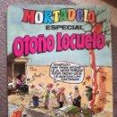 Tebeos: MORTADELO ESPECIAL Nº 144 BRUGUERA 1982 AÑO XIII CON CROMOS NUEVO. Lote 158425954