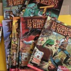 Tebeos: EL CORSARIO DE HIERRO EDICION HISTORICA. 58 Nº. AÑO 1987. EDITORIAL BRUGUERA. Lote 158513918