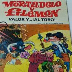 Tebeos: MORTADELO Y FILEMON .: VALOR Y AL TORO. Lote 158606166