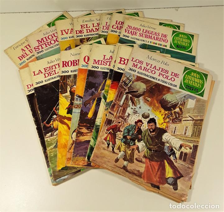JOYAS LITERARIAS JUVENILES. 16 EJEMPLARES. EDIT. BRUGUERA. BARCELONA. 1970/76. (Tebeos y Comics - Bruguera - Joyas Literarias)