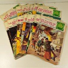 Tebeos: JOYAS LITERARIAS JUVENILES. 16 EJEMPLARES. EDIT. BRUGUERA. BARCELONA. 1970/76.. Lote 158638510