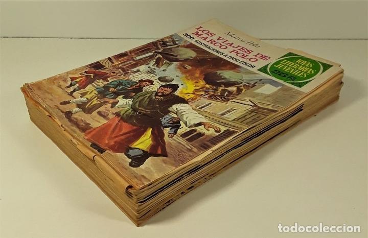Tebeos: JOYAS LITERARIAS JUVENILES. 16 EJEMPLARES. EDIT. BRUGUERA. BARCELONA. 1970/76. - Foto 3 - 158638510