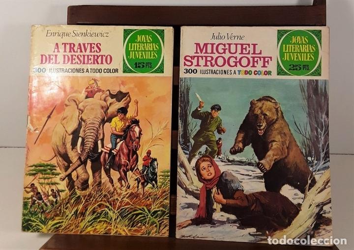 Tebeos: JOYAS LITERARIAS JUVENILES. 16 EJEMPLARES. EDIT. BRUGUERA. BARCELONA. 1970/76. - Foto 4 - 158638510