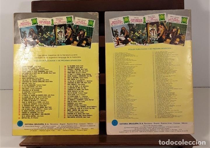 Tebeos: JOYAS LITERARIAS JUVENILES. 16 EJEMPLARES. EDIT. BRUGUERA. BARCELONA. 1970/76. - Foto 9 - 158638510