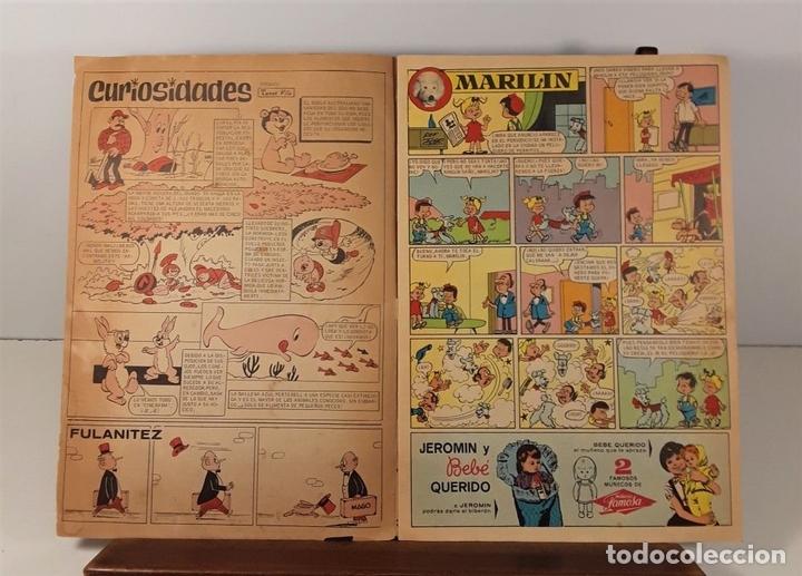 Tebeos: REVISTA JUVENIL DIN DAN. 5 EJEMPLARES. EDIT. BRUGUERA. BARCELONA. 1965/1974. - Foto 4 - 158687138