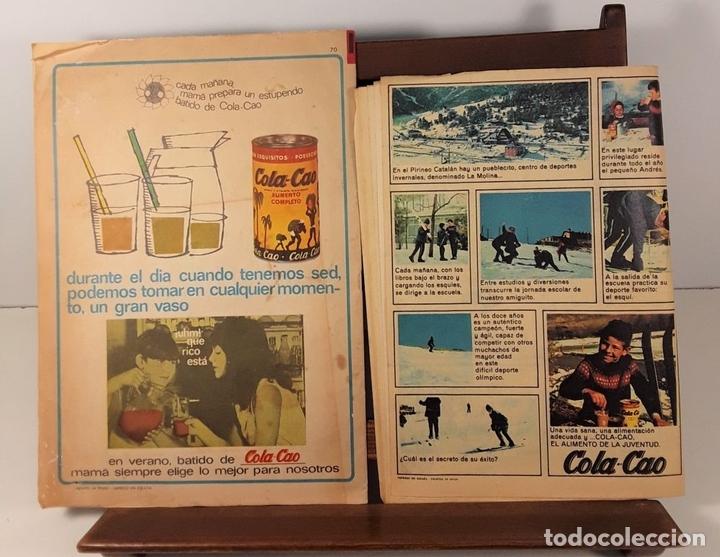Tebeos: REVISTA JUVENIL DIN DAN. 5 EJEMPLARES. EDIT. BRUGUERA. BARCELONA. 1965/1974. - Foto 7 - 158687138