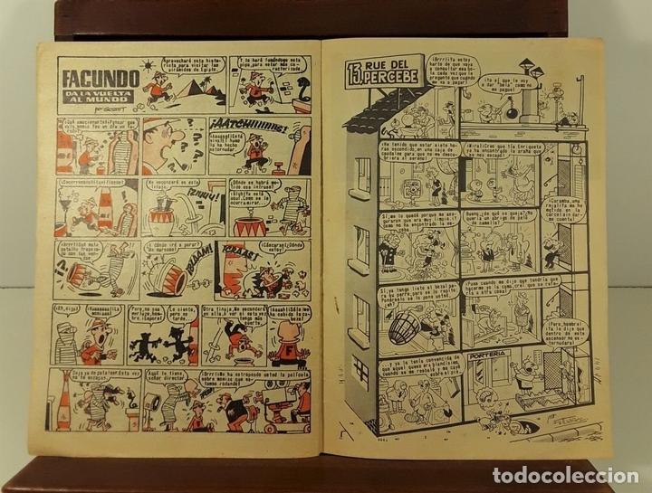 Tebeos: REVISTA JUVENIL TIO VIVO. 4 EJEMPLARES. EDIT. BRUGUERA. BARCELONA. 1958. - Foto 7 - 158690822