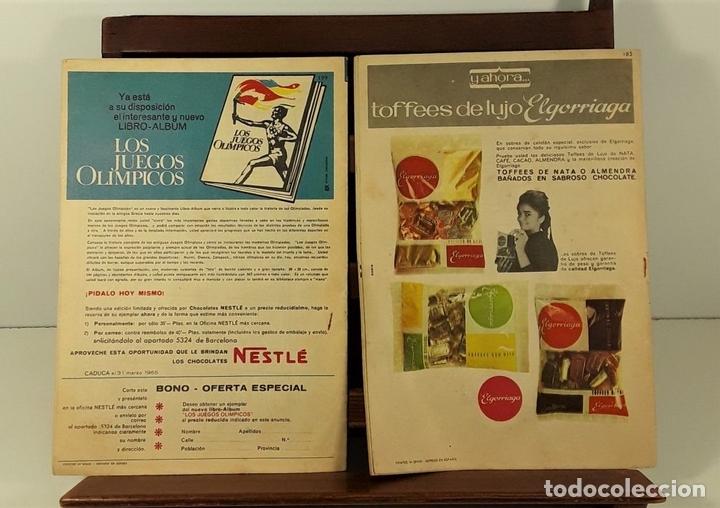 Tebeos: REVISTA JUVENIL TIO VIVO. 4 EJEMPLARES. EDIT. BRUGUERA. BARCELONA. 1958. - Foto 8 - 158690822