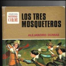 Tebeos: LOS TRES MOSQUETEROS CONTIENE 128. PÁGINAS1ª EDICIÓN DE 1972. EN HISTORIAS COLOR.. Lote 159010734