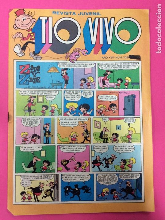 TÍO VIVO 709 (Tebeos y Comics - Bruguera - Tio Vivo)