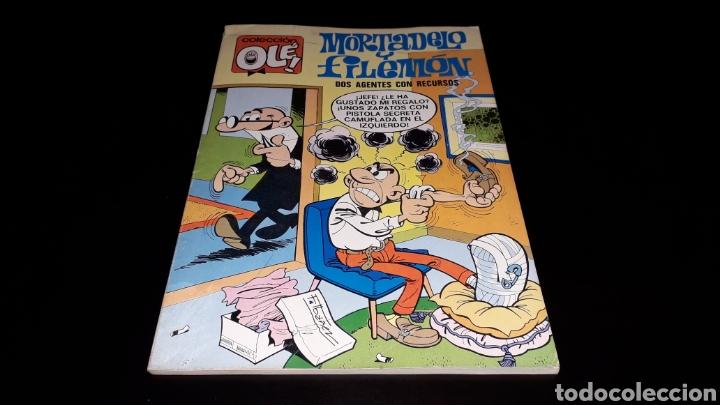 Tebeos: Nº 18 en lomo, Olé Bruguera, Mortadelo y Filemón, Dos agentes...F. Ibañez, 1ª primera edición 1971. - Foto 2 - 159154578