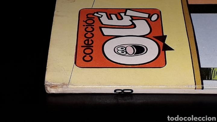 Tebeos: Nº 18 en lomo, Olé Bruguera, Mortadelo y Filemón, Dos agentes...F. Ibañez, 1ª primera edición 1971. - Foto 4 - 159154578